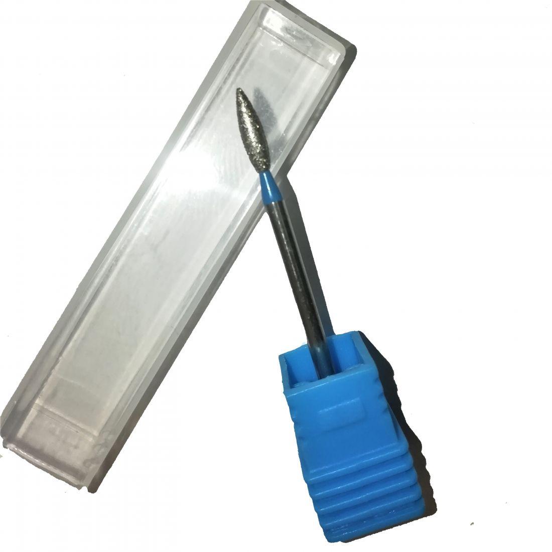 Алмазная фреза пламя синяя (2,5 мм) Арт.70