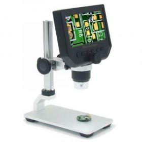 """4.3"""" Цифровой микроскоп с экраном 1-600X, 3.6МП"""