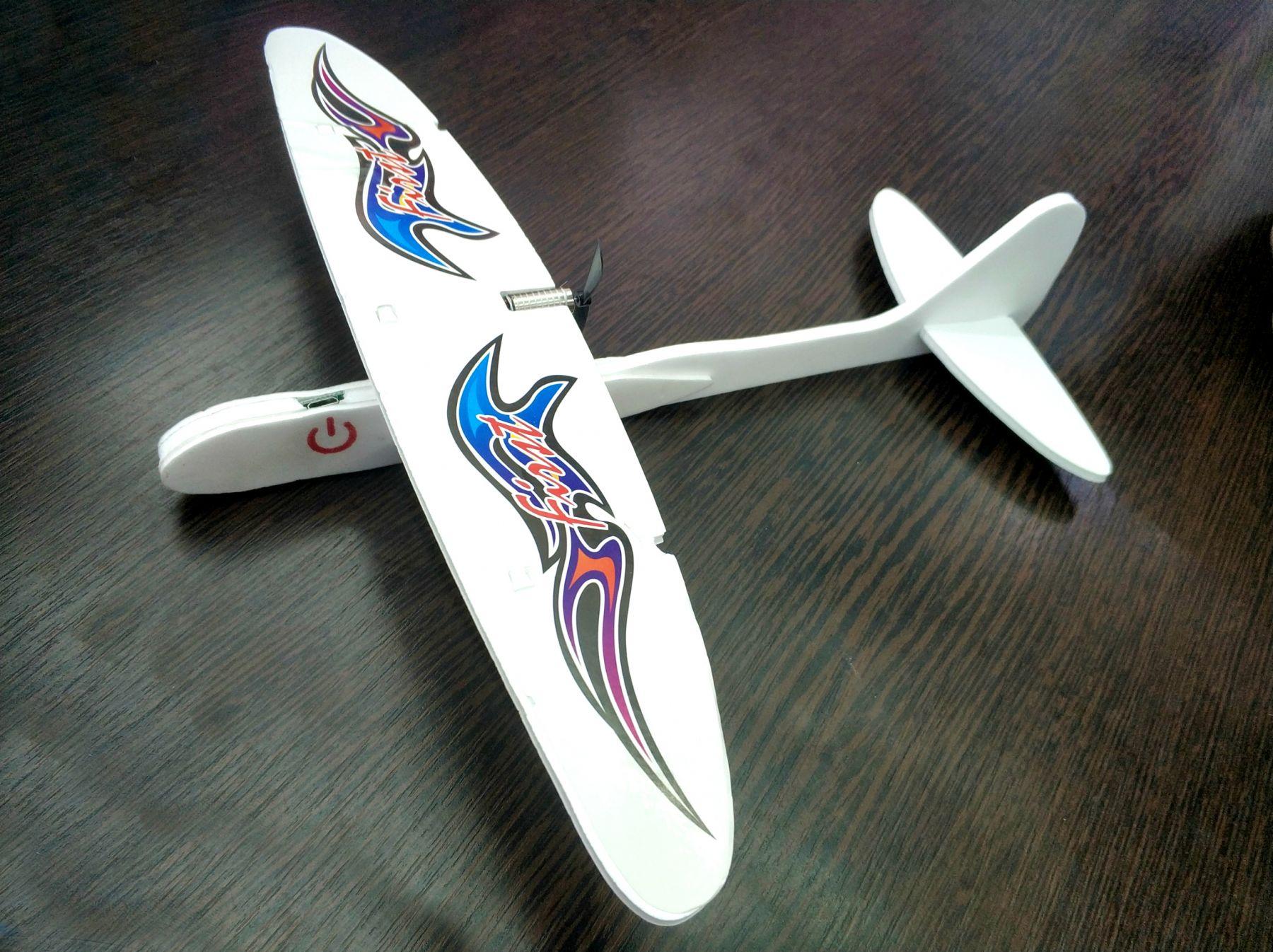 Самолет планер с мотором и зарядкой от us купить недорого