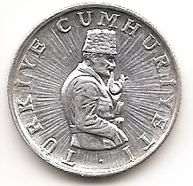 10 лир (Регулярный выпуск) Турция 1982