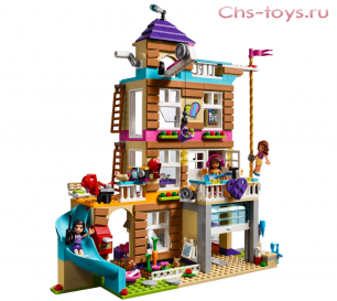 Конструктор LELE The girl  Дом Дружбы 37077 (Аналог LEGO Friends 41340) 740 дет