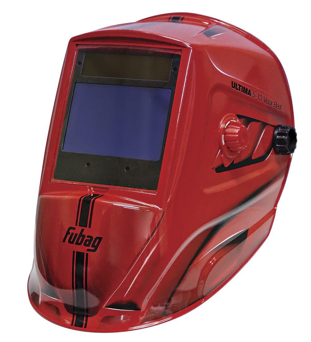 Маска сварщика Хамелеон FUBAG ULTIMA 5-13 Visor Red