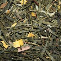 Зеленый чай с добавками «Grunewald LEMON & GINSENG», 250 гр.
