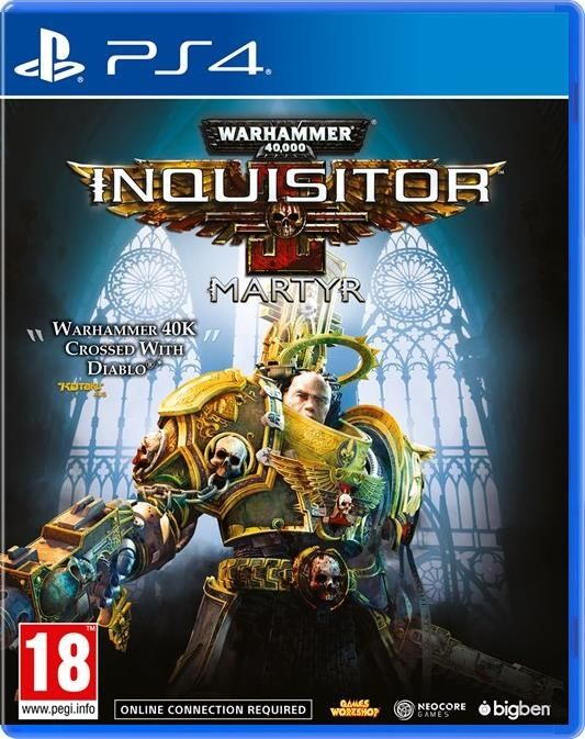 Игра Warhammer 40,000: Inquisitor - Martyr (PS4)
