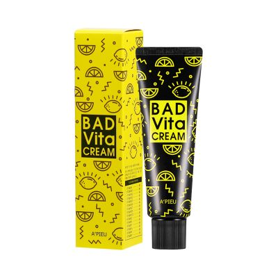 Крем для лица с витаминным комплексом A'PIEU Bad Vita Cream