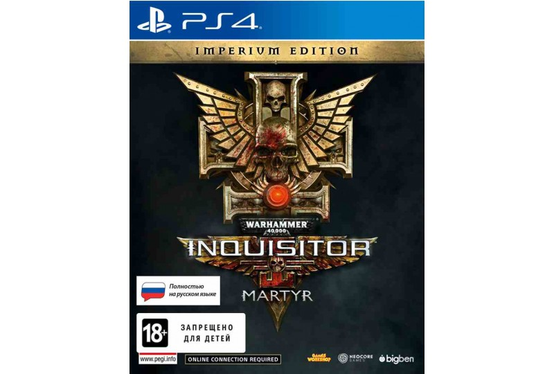 Игра Warhammer 40,000: Inquisitor - Martyr Imperium Edition (PS4)