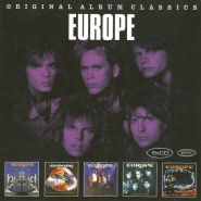 EUROPE - Original Album Classics [5CD-BOX]