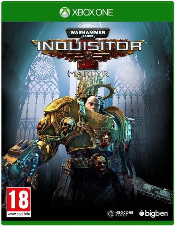 Игра Warhammer 40,000: Inquisitor - Martyr (XboxOne)