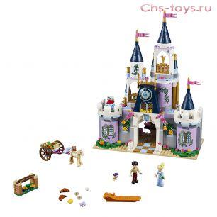 Конструктор Lari Disney Princess Волшебный замок Золушки 10892 (41154) 587 дет