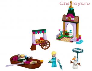 Конструктор Lari Princess Приключения Эльзы на рынке 10889 (41155) 128 дет