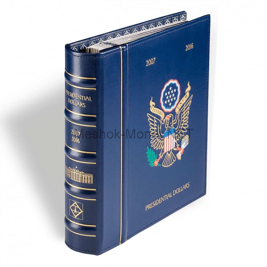 """Альбом для монет серии """"VISTA"""" для """"президентских"""" долларов США с 6 листами"""
