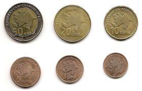 Набор монет Азербайджан 2006  (6 монет)