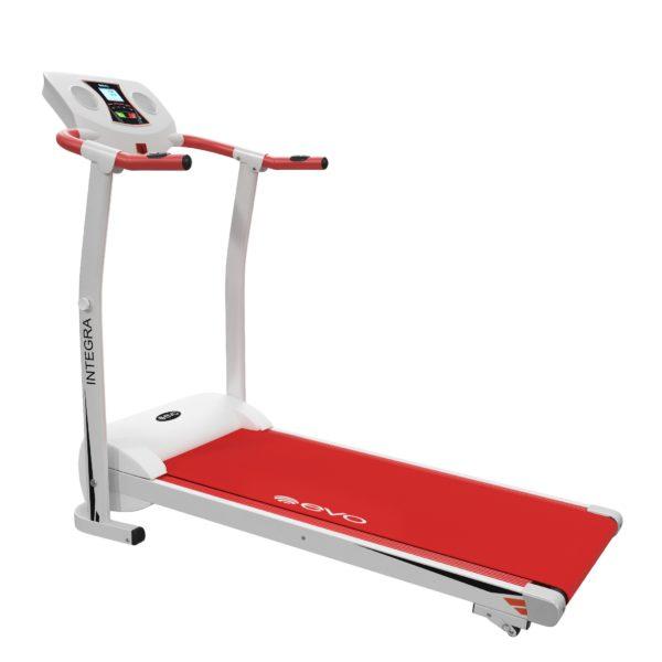 Электрическая беговая дорожка - Evo Fitness Integra, цвет красный