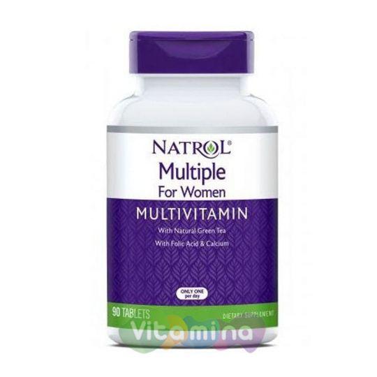 Natrol Витамины и минералы для женщин, My Favorite Multiple Women, 90 табл