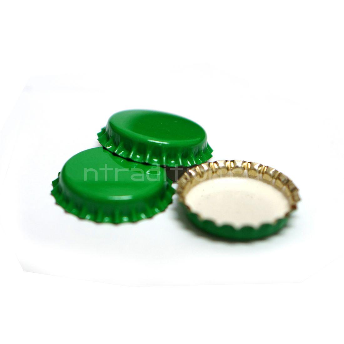 Кроненпробка, цвет зеленый, 80 шт.