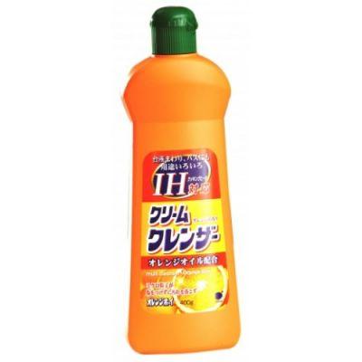 """537672 Daiichi """"Orange boy"""" Моющее средство для дома на кремовой основе с апельсин. маслом, 400г"""