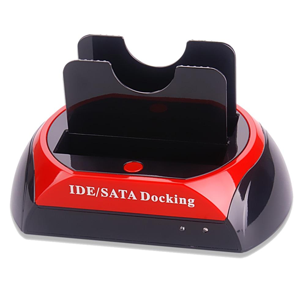 """Док-станция 875D 2*HDD 2.5""""/3.5"""" SATA+IDE OTB USB2.0"""