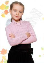 Джемпер школьный для девочки розовый