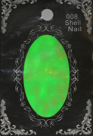 Фольга SHELL NAIL 008 битое стекло
