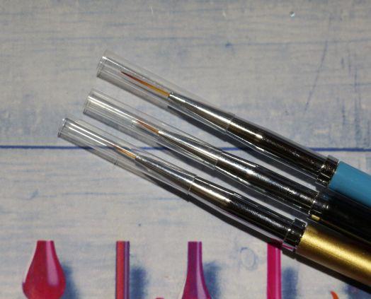 Кисти для рисования 0 00 000, тонкие, высокого качества, Global Fashion, 3 шт (GF-13)