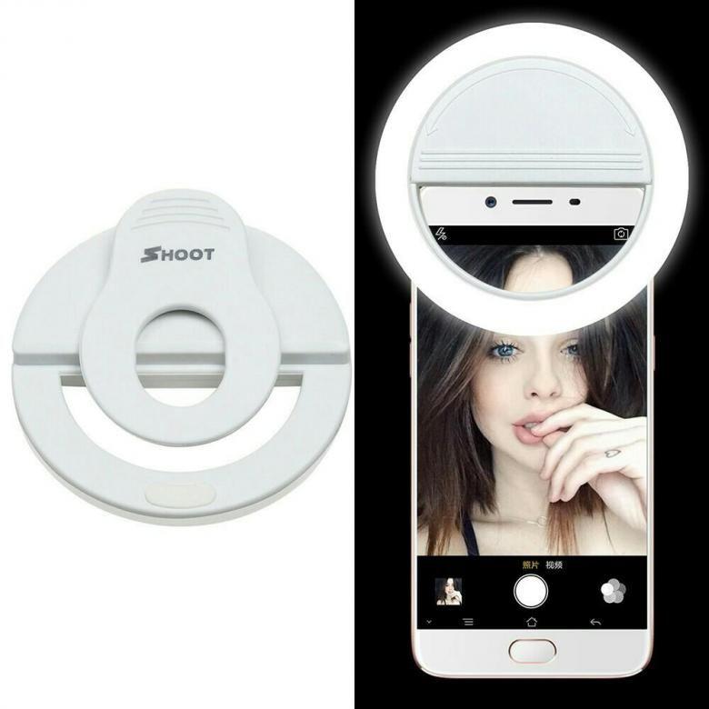 Кольцевая селфи-лампа для телефона Sеlfie Ring Light
