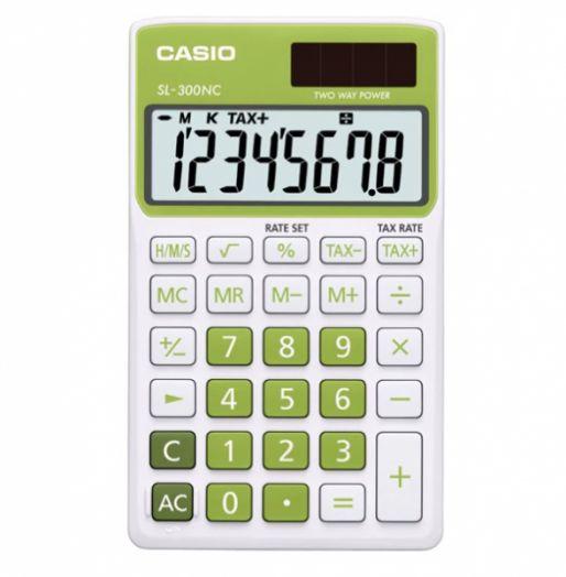 Калькулятор CASIO SL-300NC (8 разр.) настольный