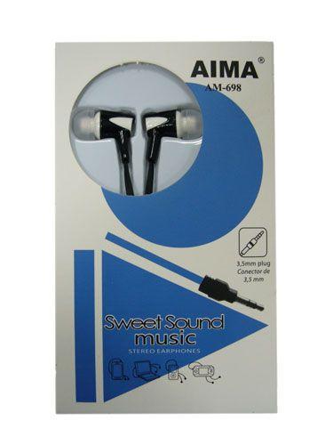 AIMA 698 наушники вакуум