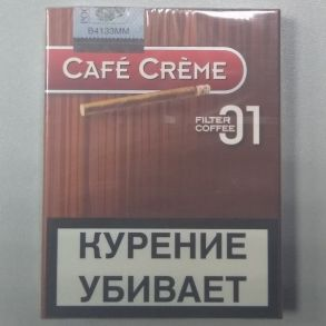 Сигариллы Cafe Creme 01 Filter Coffee