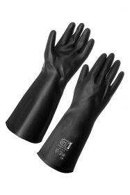 Перчатка КЩС резин.черные