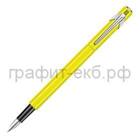Ручка перьевая Caran d'Ache Office Fluo желтая F 841.470
