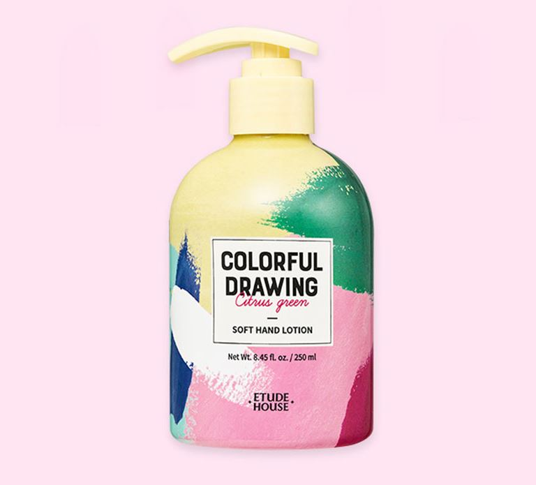 Лосьон для рук ET.COLORFUL DRAWING SOFT HAND LOTION(COLORFUL DRAWING) 250мл