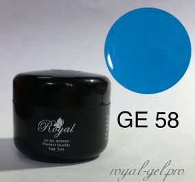 GE58 Royal ENAMEL  гель цветной 5 мл.