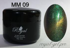 MM09 Royal MISTIC MAGNITO гель краска 5 мл.