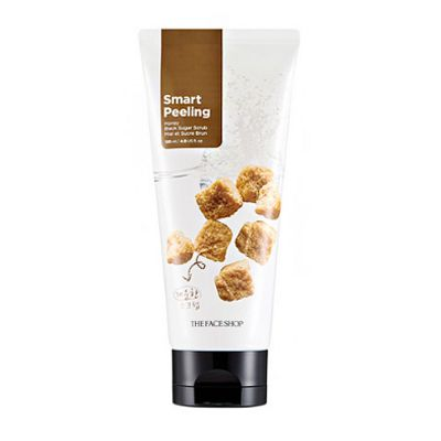 The Face Shop Скраб для лица SMART PEELING HONEY BLACK SUGAR SCRUB