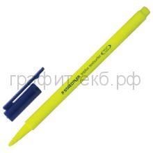Маркер текст.STAEDTLER Triplus 1-4мм желтый T362-1