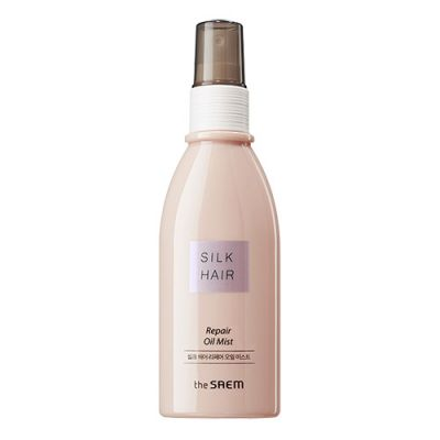 THE SAEM SILK HAIR R Масляный спрей для поврежденных волос Silk Hair Repair Oil Mist 100мл