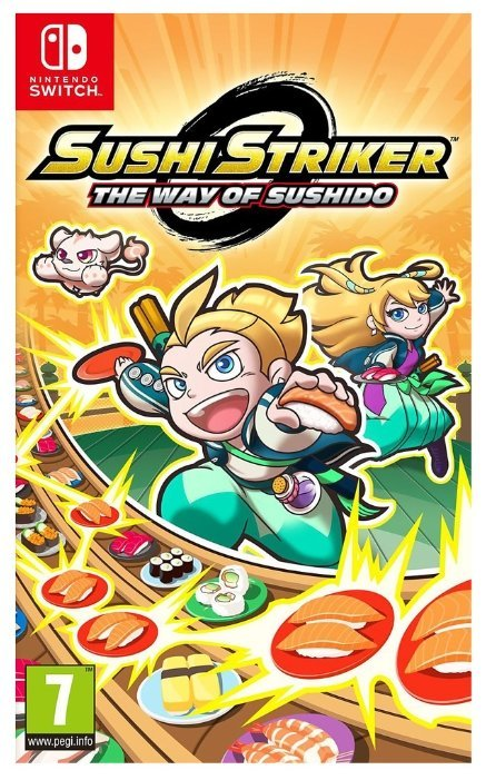 Sushi Striker: The Way of Sushido (Nintendo Switch)