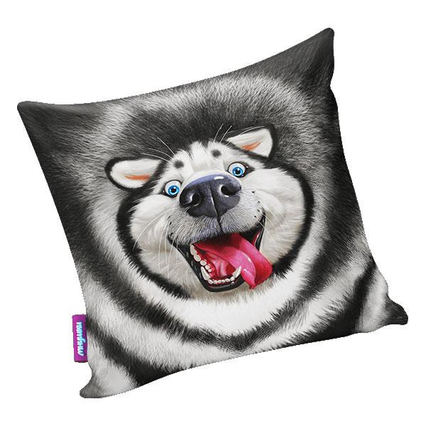 Подушка игрушка Лайка счастливчик