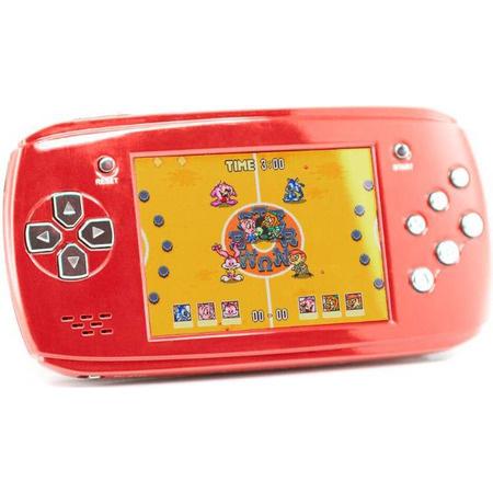 Портативная игровая приставка DVTech Scout (красный)