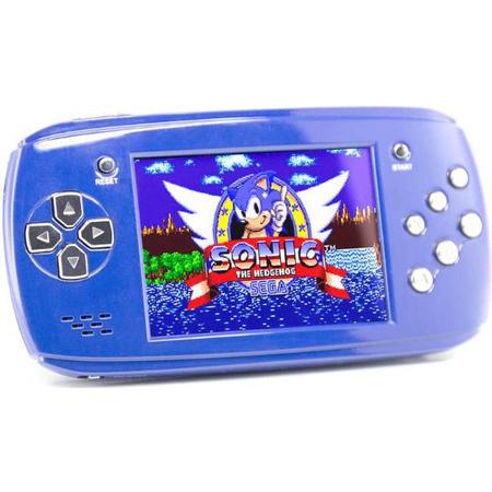 Портативная игровая приставка DVTech Scout (синий)