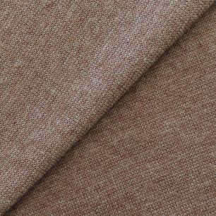 Лоскут трикотажной ткани 50*30 Коричневый меланж