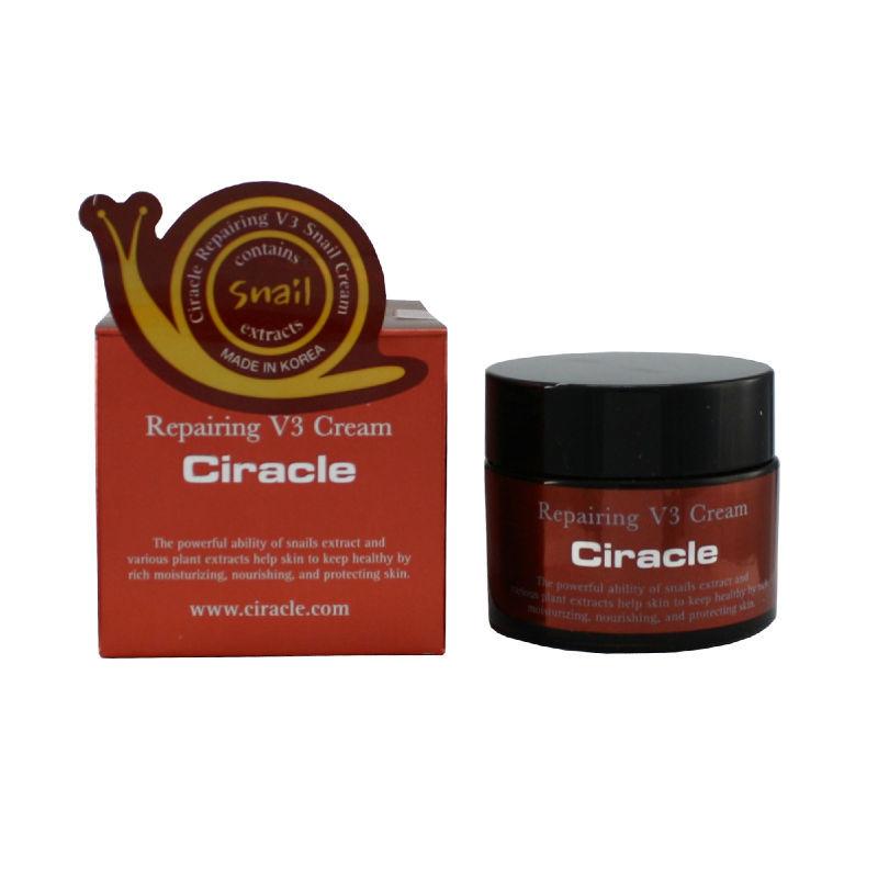 Крем для лица восстанавливающий Ciracle Repairing V3 Snail Cream 50мл