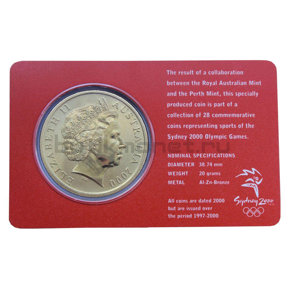 5 долларов 2000 Австралия Баскетбол (Олимпийские игры в Сиднее)