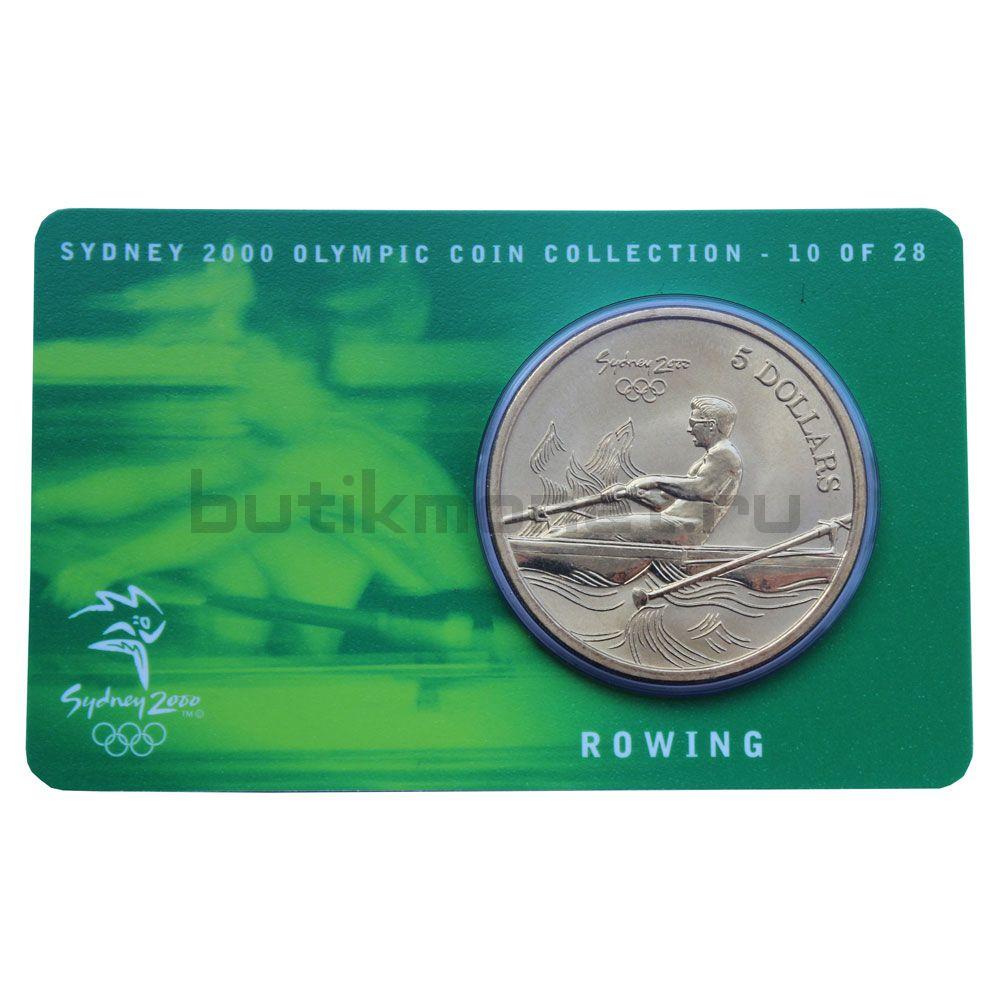 5 долларов 2000 Австралия Гребля (Олимпийские игры в Сиднее)