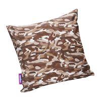 Подушка игрушка Камуфляж стандарт коричневая