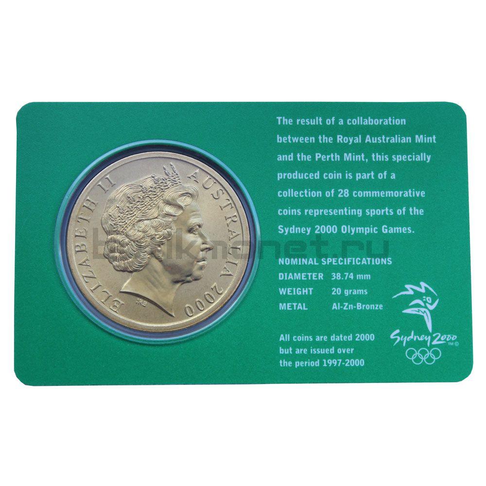 5 долларов 2000 Австралия Теннис (Олимпийские игры в Сиднее)