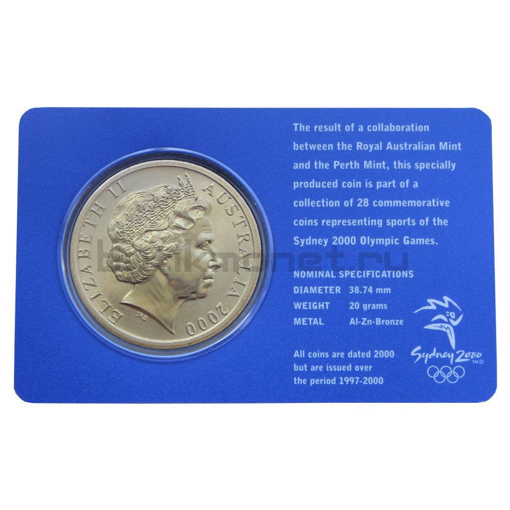 5 долларов 2000 Австралия Тхэквондо (Олимпийские игры в Сиднее)