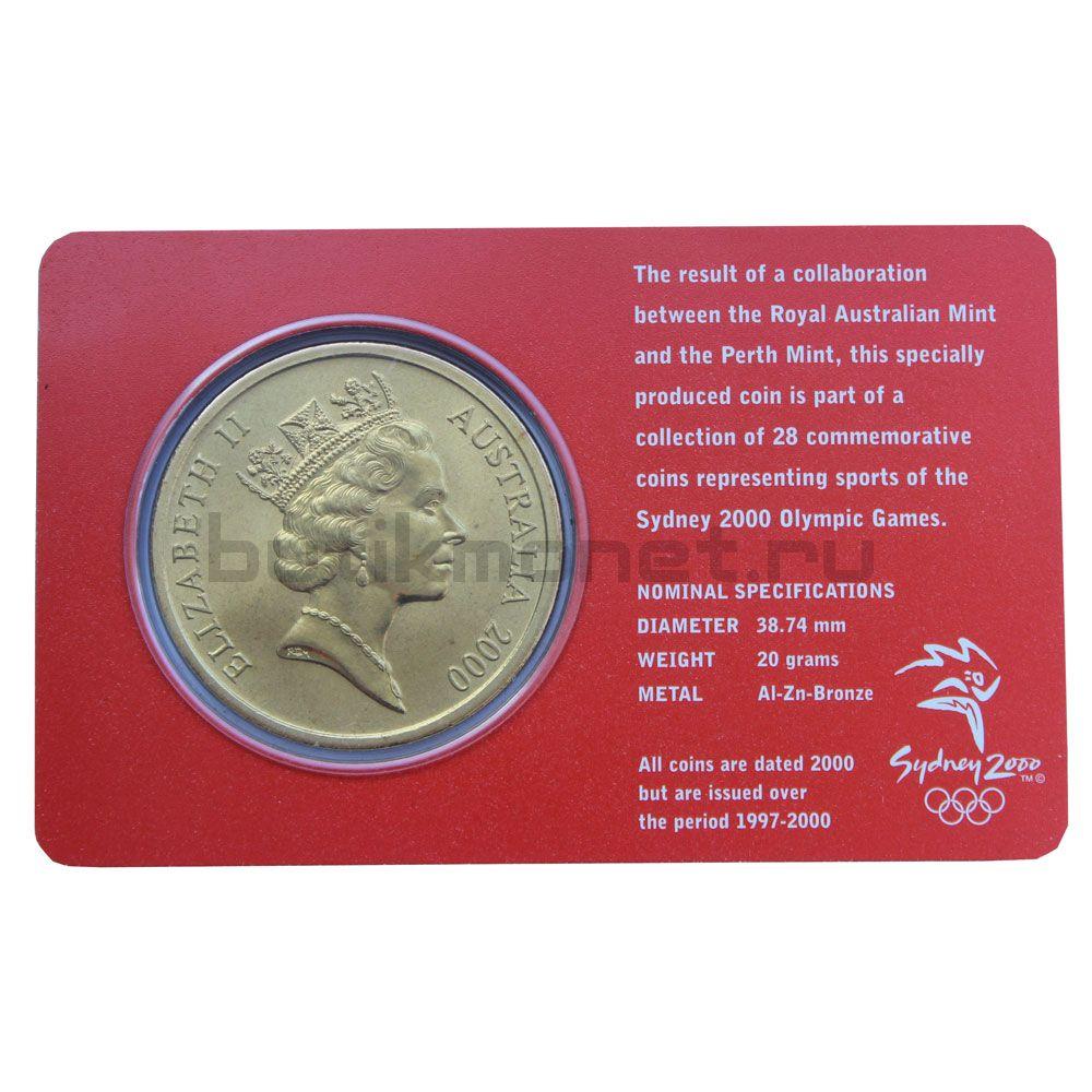 5 долларов 2000 Австралия Триатлон (Олимпийские игры в Сиднее)