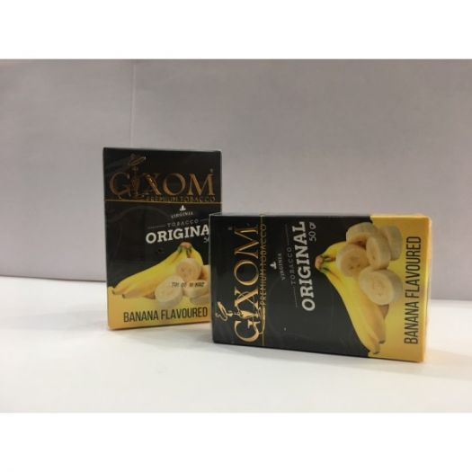 Табак для кальяна GIXOM BANANA 50g