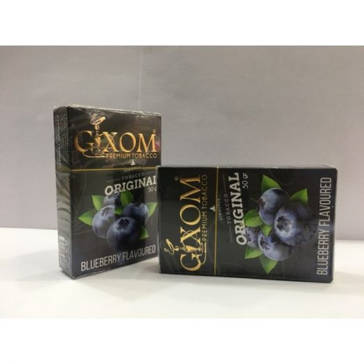 Табак для кальяна GIXOM BLUEBERRY 50g